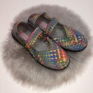 BareTraps | Rainbow Woven Ideena Shoes - 9